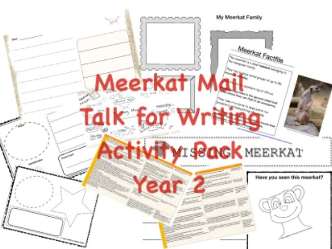 Meerkat Mail | Talk for Writing|Activity Pack