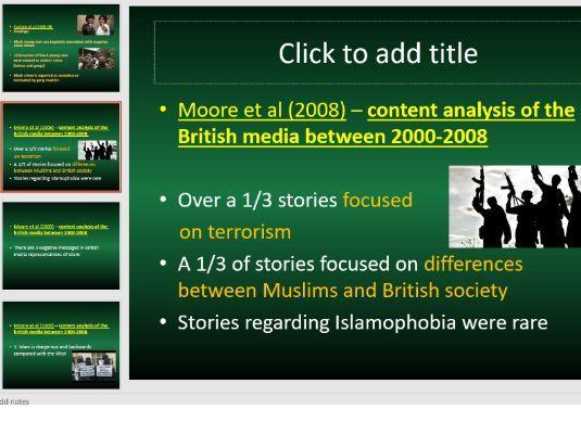 Media representations of Ethnicity (30 slides)