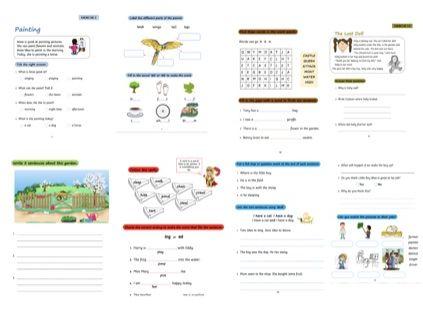 Year 1 English Workbook