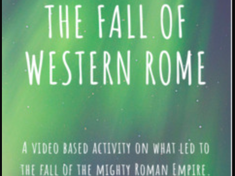 The Fall of the Western Roman Empire - Video Packet