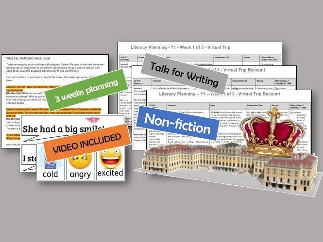 Y1 Nonfiction Writing Unit - Virtual School Trip