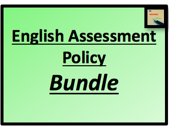 English Assessment Policy Bundle