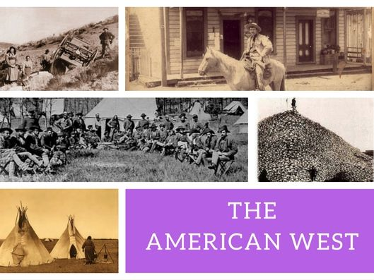 Edexcel American West - Narrative Account - Exam Question List and Activity