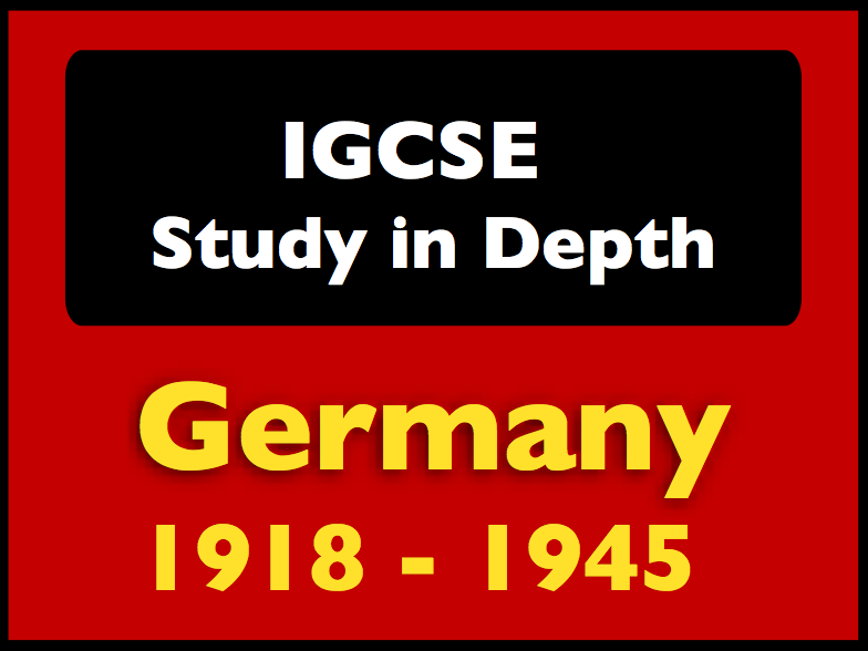 Cambridge IGCSE History: Germany 1918-45
