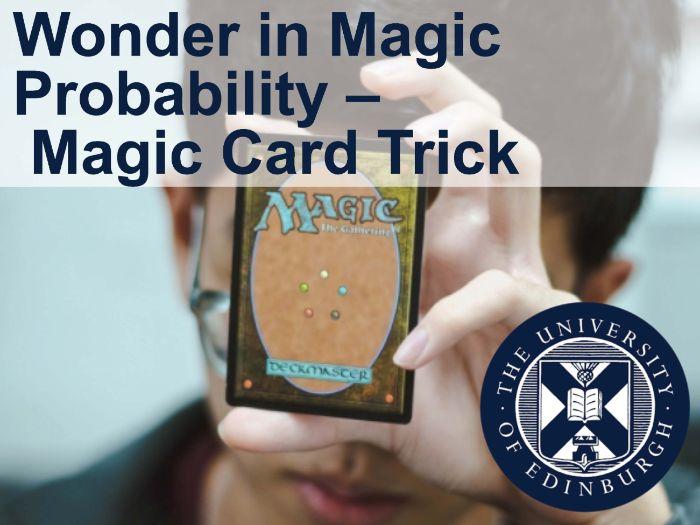 Wonder in Magic - Probability – Magic Card Trick