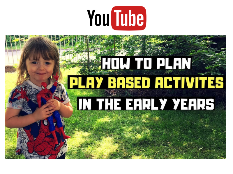 EYFS PLANNING USING THE CHILDREN'S INTERESTS