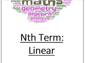 Nth Term: Linear Practice Questions Booklet