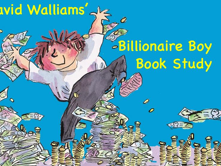 Billionaire Boy Book Study