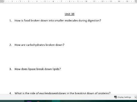 AQA AS Biology Revision Questions/Quiz (new spec)