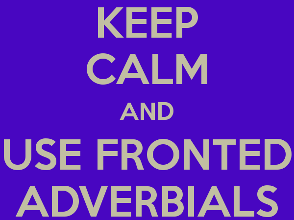 Fronted Adverbial Lesson Observation for KS2