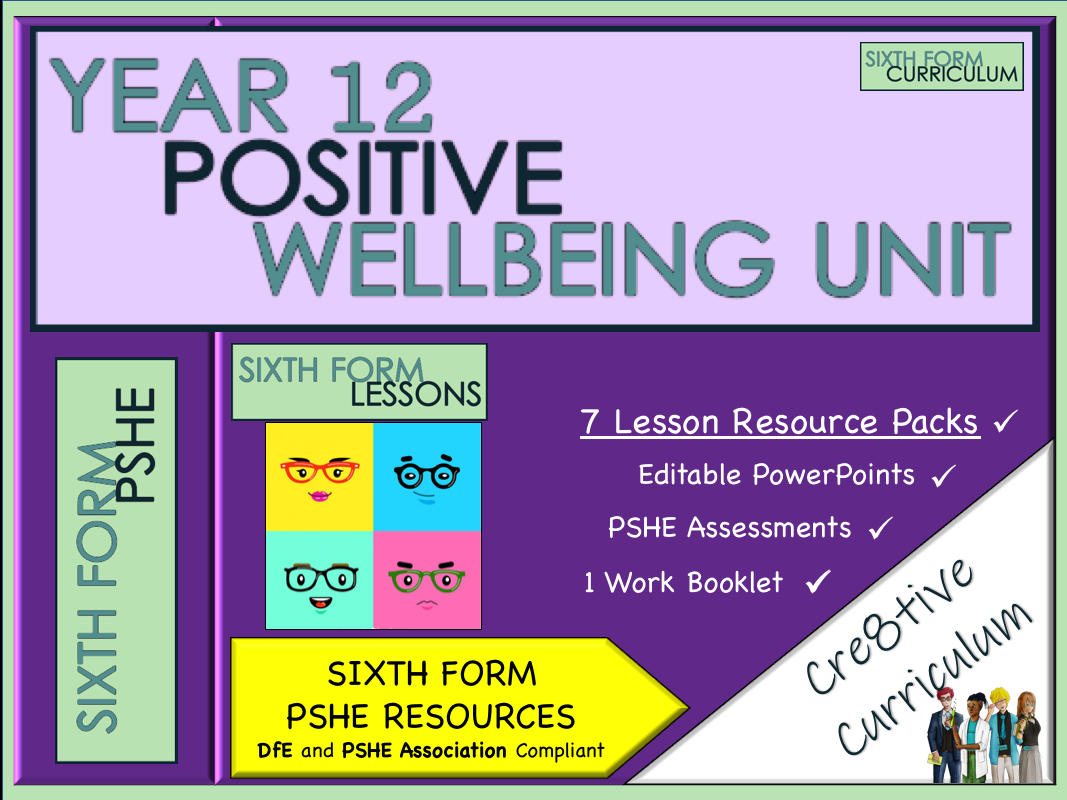 KS5 PSHE Lessons Positive Wellbeing