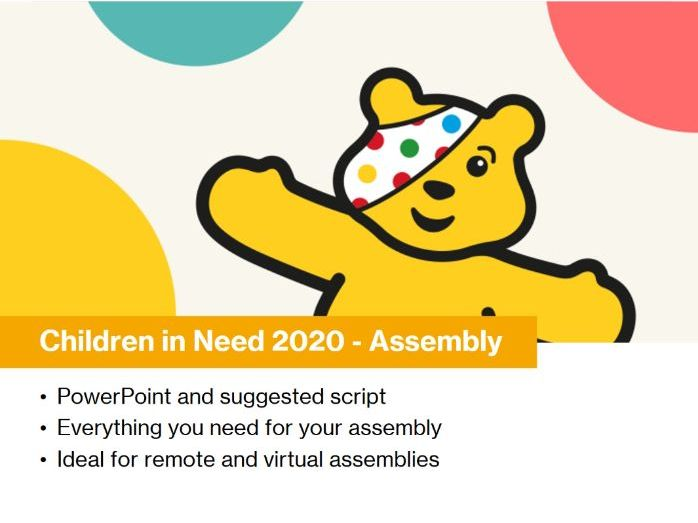 Children in Need Assembly 2020