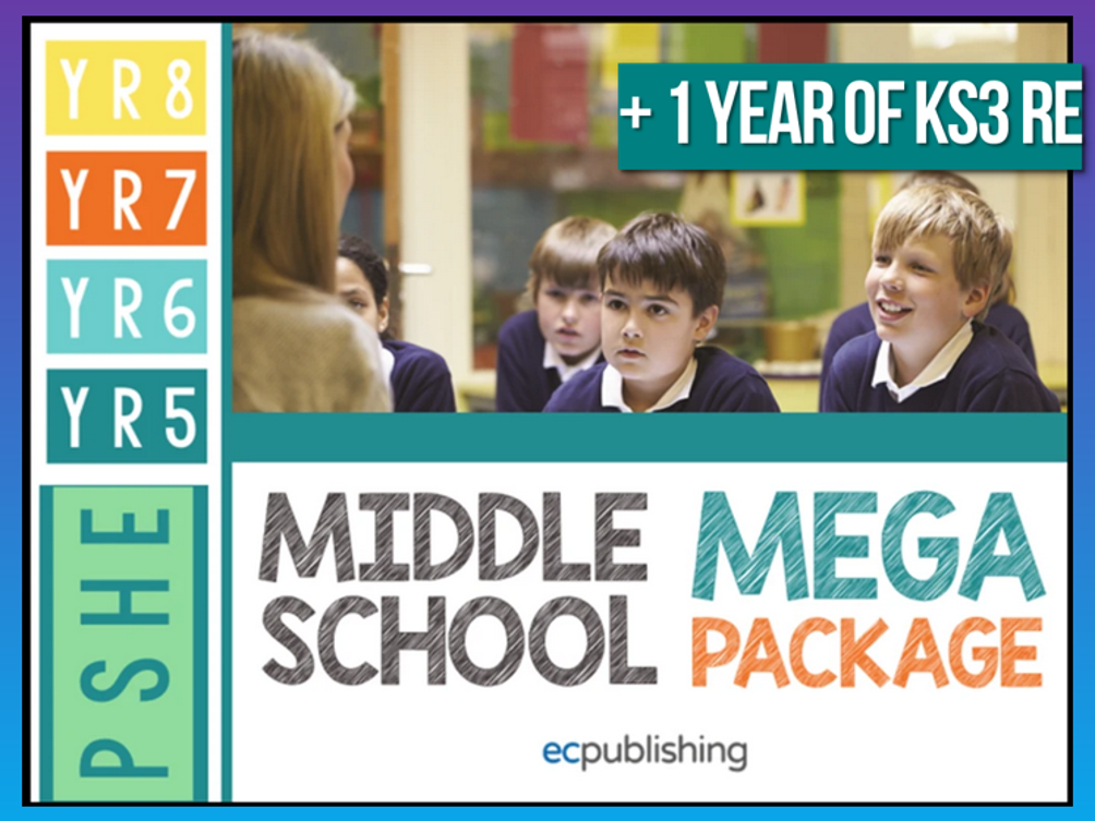 Complete Middle School PSHE with RE