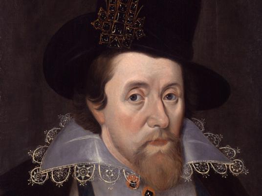 King James I biography lesson
