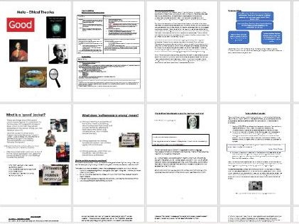 Meta-Ethical Theories Workbook and Power Points