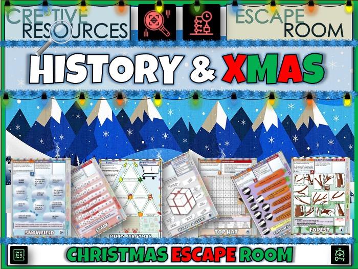 History Christmas Escape Room