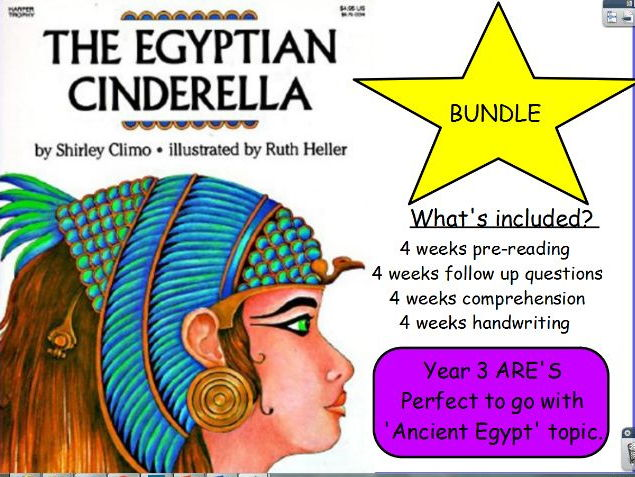 4 Weeks Guided Reading 'The Egyptian Cinderella'