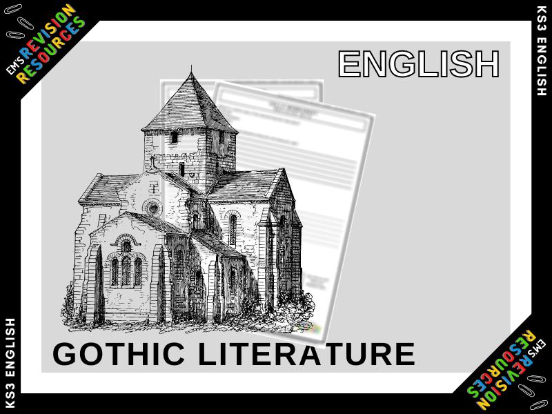 ENG | Gothic Literature Work Booklet