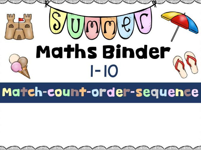 Maths Binder 1-10