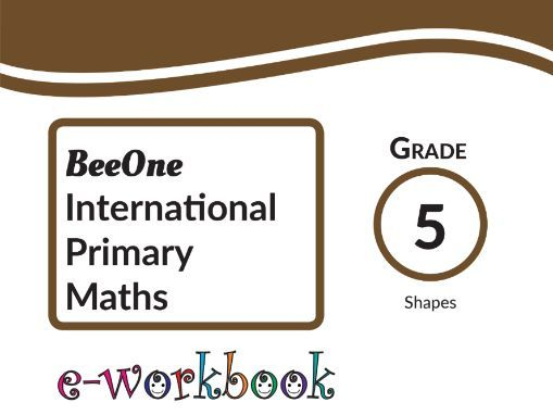 Grade 5 Shapes , 26 Worksheets  from BeeOne Books