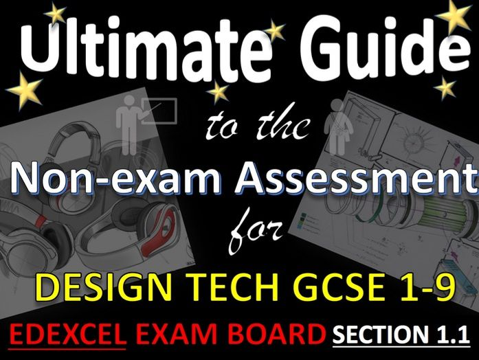 Ultimate Guide to GCSE DT Exexcel NEA Contextual Themes and Section 1.1 for teachers