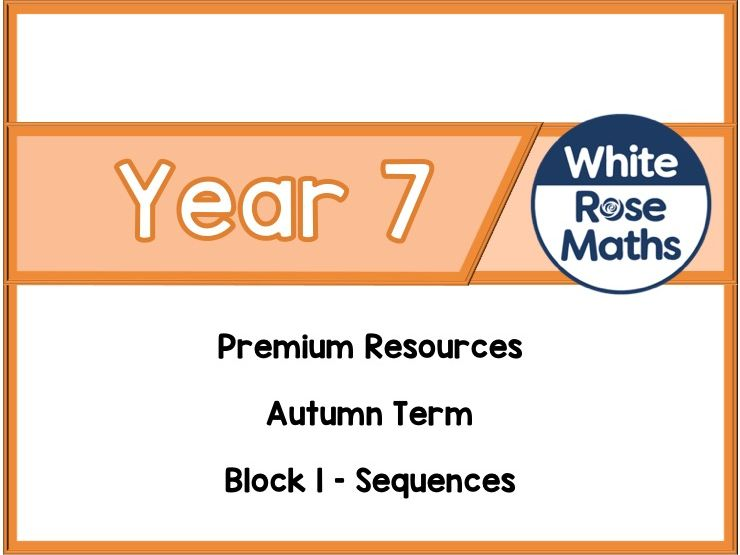 Year 7 - Sequences