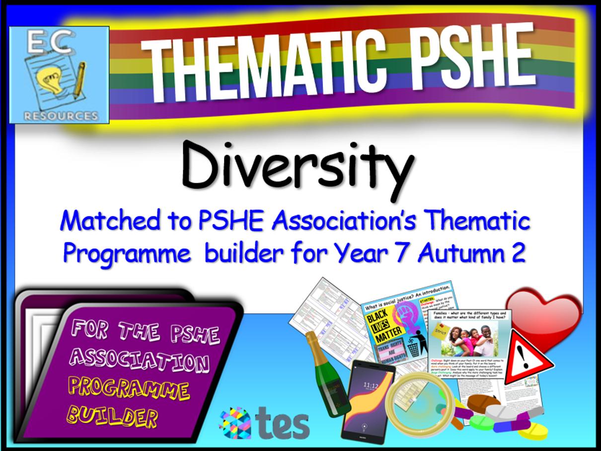 Thematic PSHE Diversity