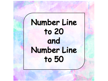 Number Line to 20 and Number Line to 50