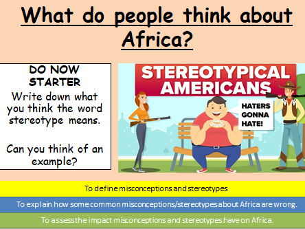 Misconceptions of Africa