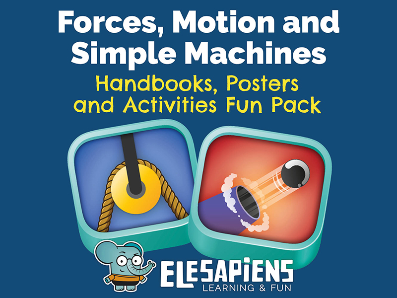 Forces, Motion and Simple Machines pack