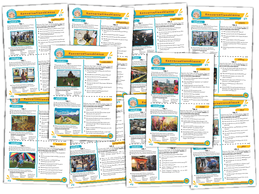 10 x German Speaking Bundle (Pack 10)
