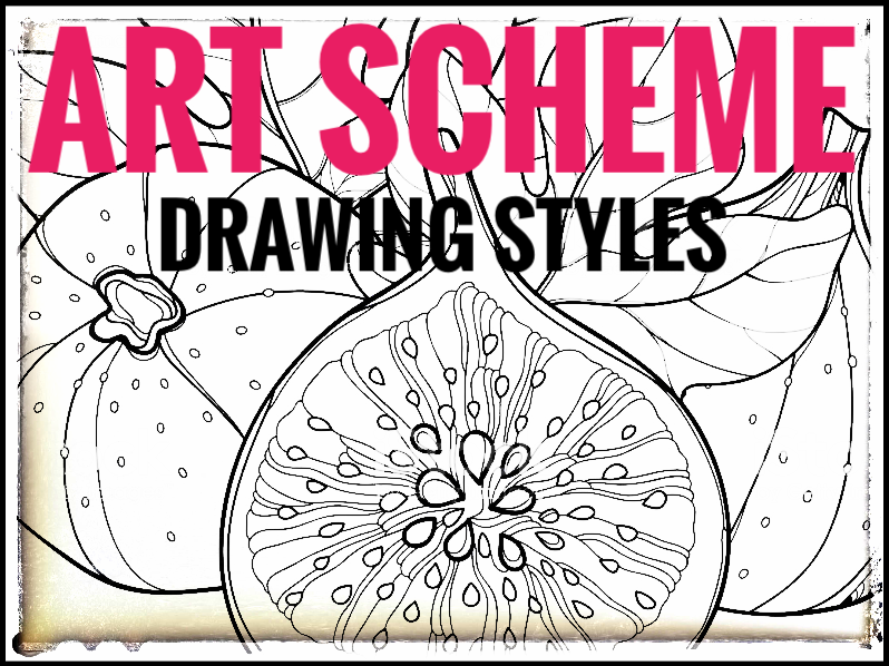 Art Scheme of Work - Drawing Styles