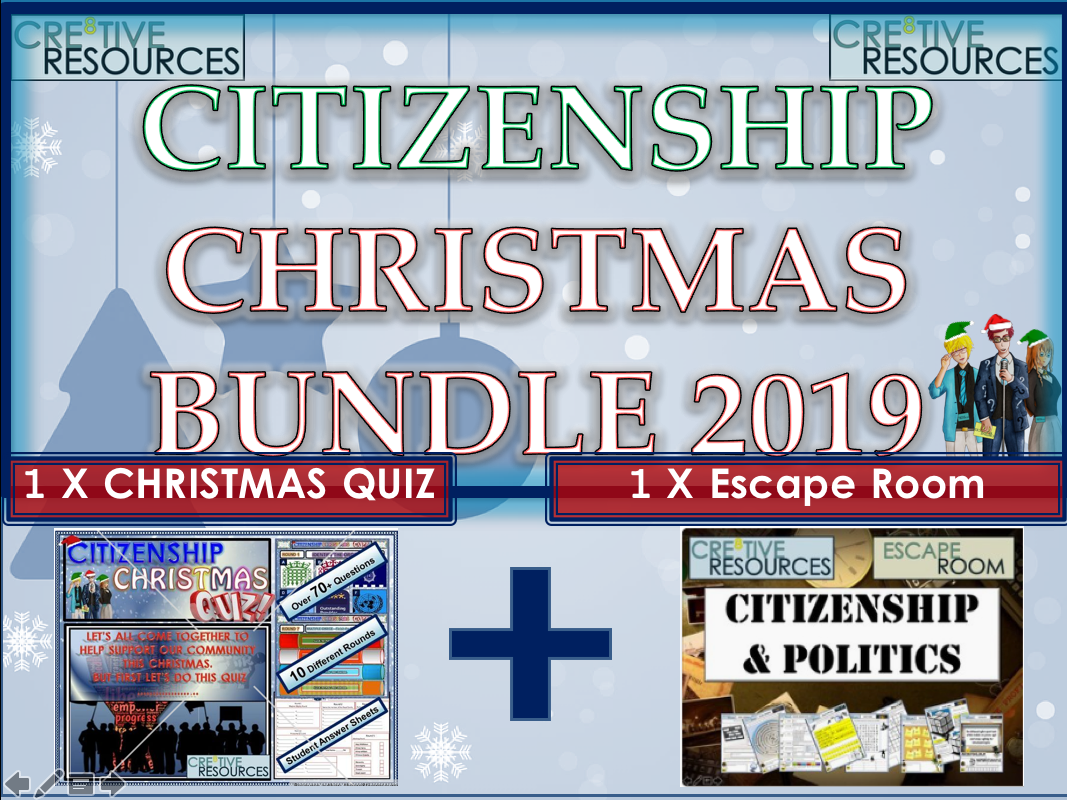 Citizenship Christmas 2019 Bundle