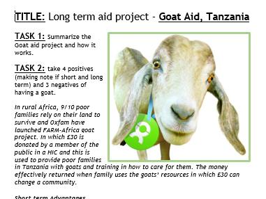 AQA GCSE Changing Economic World - Complete Scheme.