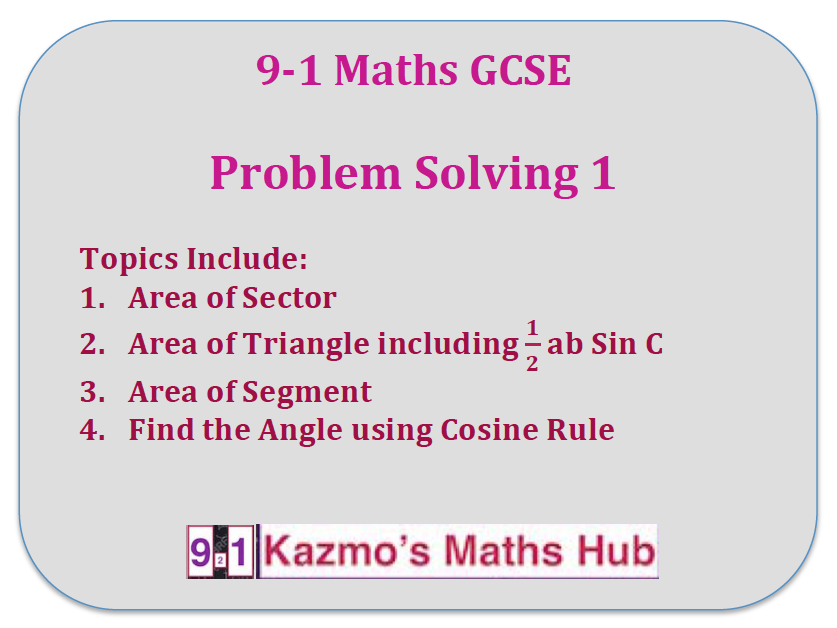 9-1  Gcse Maths  Problem Solving 1