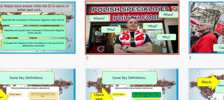 AQA A GCSE: Polish Migration to the UK.