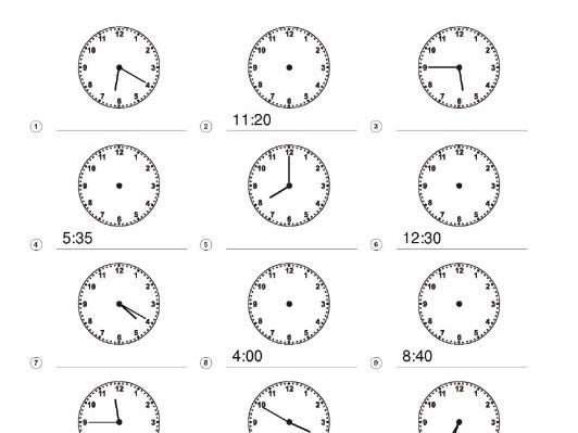 Freebie Telling Time KS1 KS2 Mathematics Clocks Minutes Hours