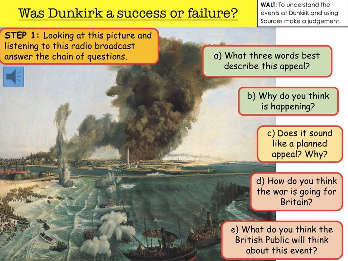 was dunkirk a triumph or a disaster