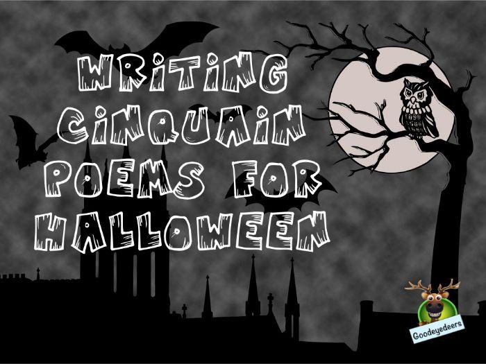 Halloween Writing Idea -  Spine-Chilling Cinquain Poems