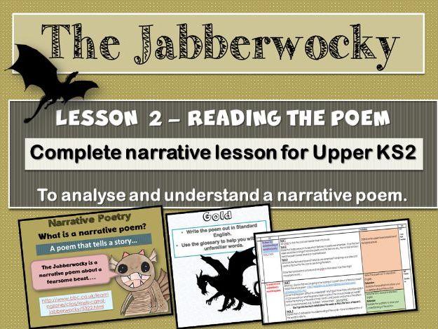 THE JABBERWOCKY - LESSON 2 - UNDERSTANDING THE POEM.