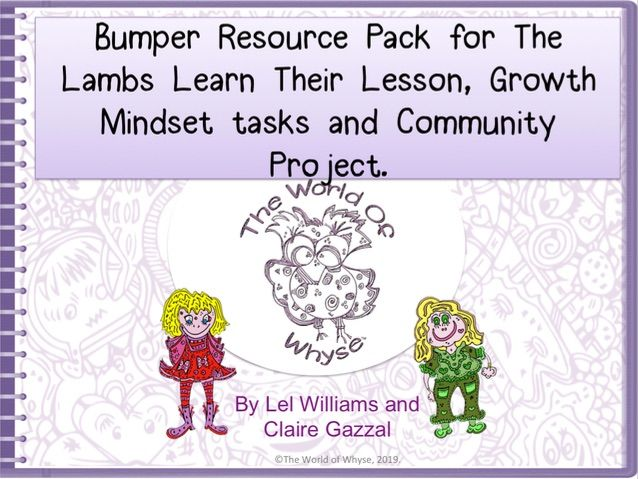 Bumper Book 3 Resource Pack – The Lambs Learn Their Lesson by The World of Whyse.