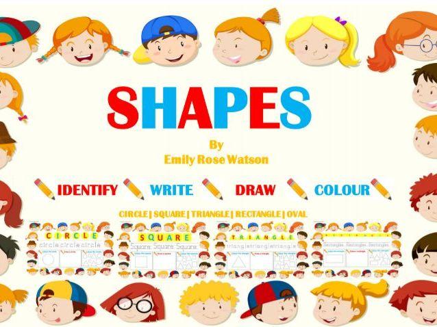 SHAPE - mini bundle. PRE SCHOOL/EARLY YEARS and ESOL