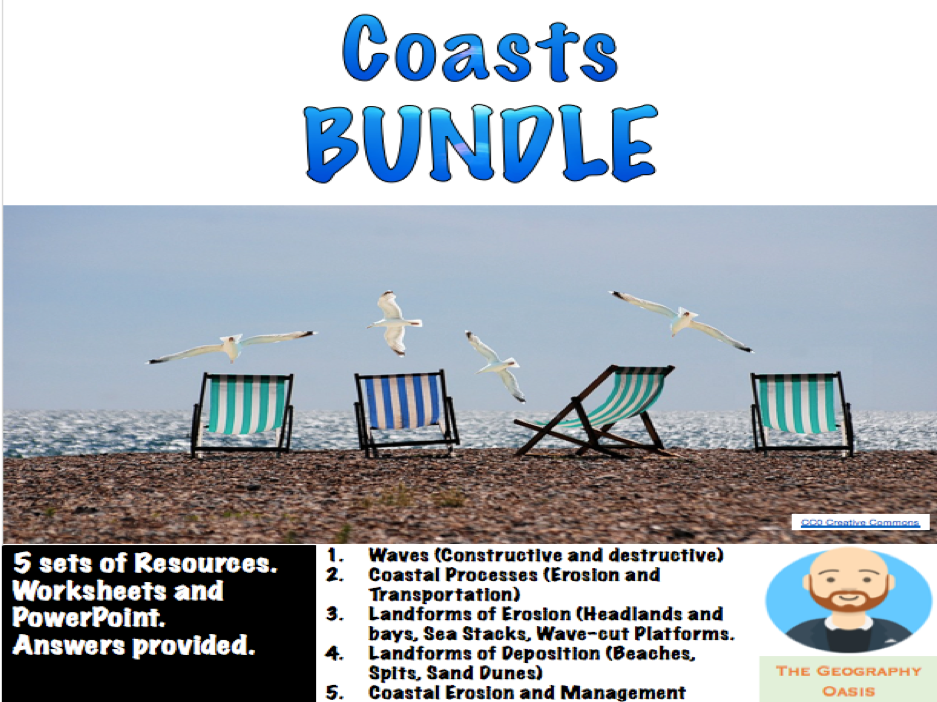 Coasts Bundle: Processes, Landforms, and Management.