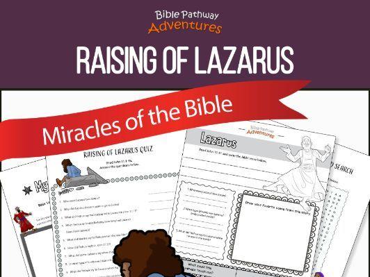 Bible Miracles: Raising of Lazarus