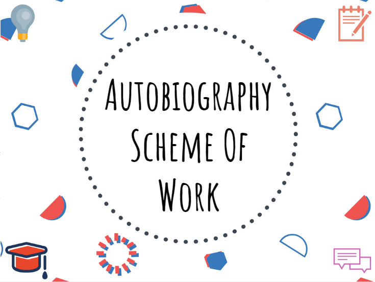 Autobiography scheme of work #autobiography #scheme #GCSE #English