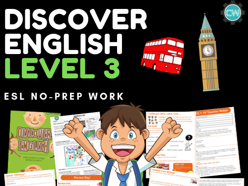 Discover English: Level 3