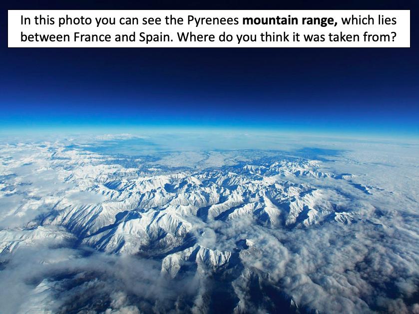 Identifying the world's major mountain ranges - KS2
