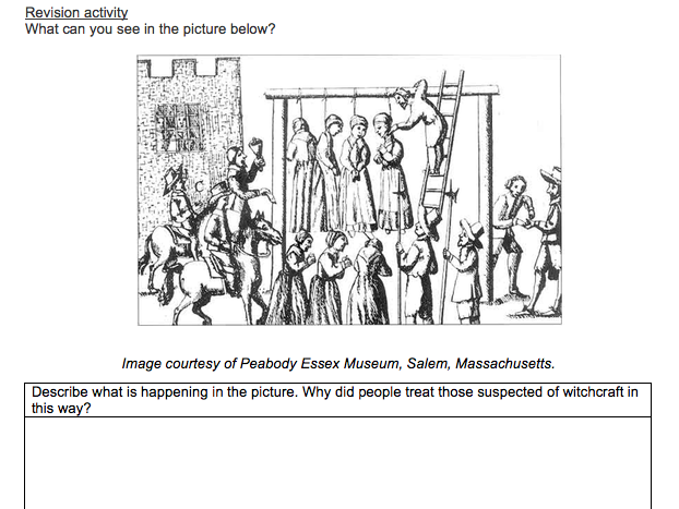 Y7  Spring 2 homework booklet 'The Stuarts' History KS3