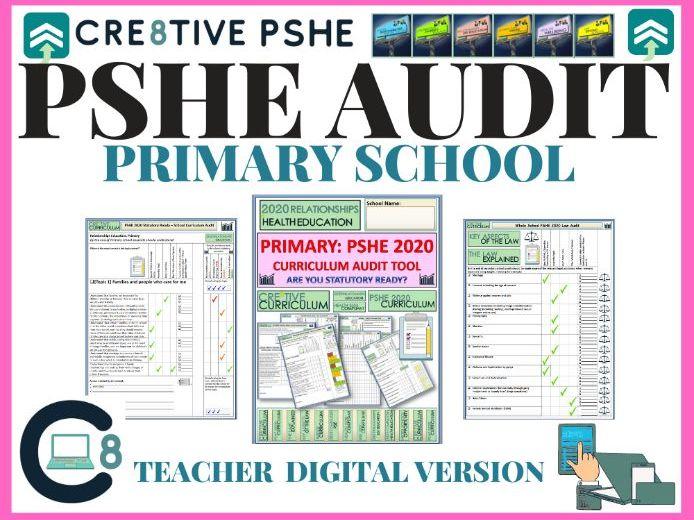 PSHE Audit + Planning Digital Version - Primary