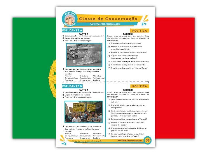 Política - Portuguese Speaking Activity